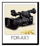 4K ハンディカム 「FDR-AX1」