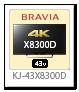 KJ-43X8300D