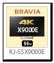 BRAVIA 4K 液晶テレビ「KJ-55X9000E」