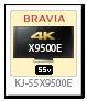BRAVIA 4K 液晶テレビ「KJ-55X9500E」