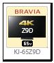 BRAVIA 4K液晶テレビ「KJ-65Z9D」