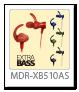 ステレオヘッドホン「MDR-XB510AS」