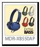 ステレオヘッドホン「MDR-XB550AP」
