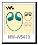 ウォークマン「NW-WS410」