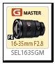 FE 16-35mm F2.8 GM「SEL1635GM」