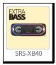 ワイヤレスポータブルスピーカー「SRS-XB40」