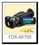 4K ハンディカム 「FDR-AX700」
