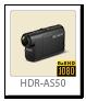 アクションカム ActionCam 「HDR-AS50」 ハイビジョン