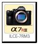 α7RIII 「ILCE-7RM3」 フルサイズ Eマウント デジタル一眼カメラ