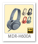 WH-H600A ステレオヘッドヘッドホン(ヘッドバンド型)