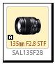 135mm F2.8 [T4.5] STF 「SAL135F28」