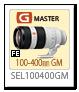 FE 100-400mm F4.5-5.6 GM OSS 「SEL100400GM」