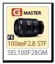 FE 100mm F2.8 STF GM OSS 「SEL100F28GM」