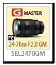 FE 24-70mm F2.8 GM 「SEL2470GM」
