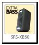 ワイヤレスポータブルスピーカー「SRS-XB60」